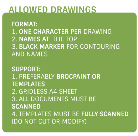 how to draw collective custom gifts with drawings